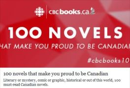 "CBC: ""100 novels that make you proud to be Canadian"""